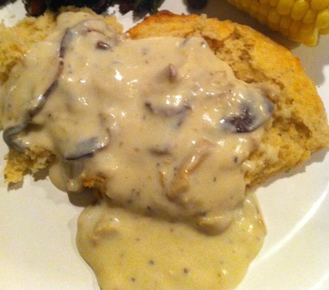 Cream Of Mushroom Gravy  Creamy Country Mushroom Gravy Recipe on Food52