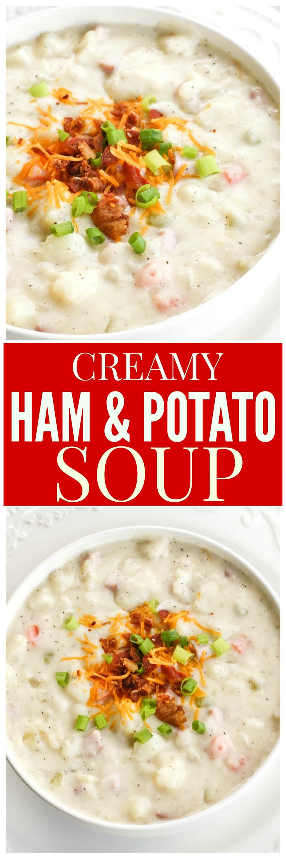 Cream Of Potato Soup  cream of potato soup with ham