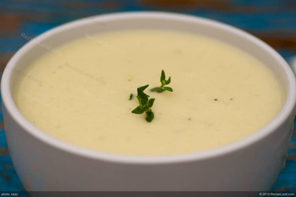 Cream Of Potato Soup  Sour Cream of Potato Soup Recipe