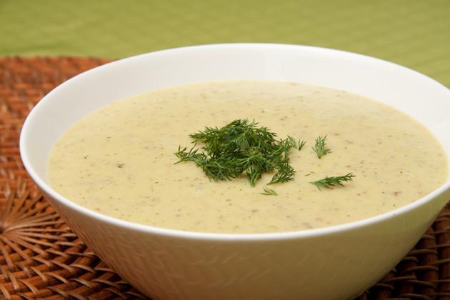 Cream Of Potato Soup  Rib Sticking Cream of Potato Dill Soup