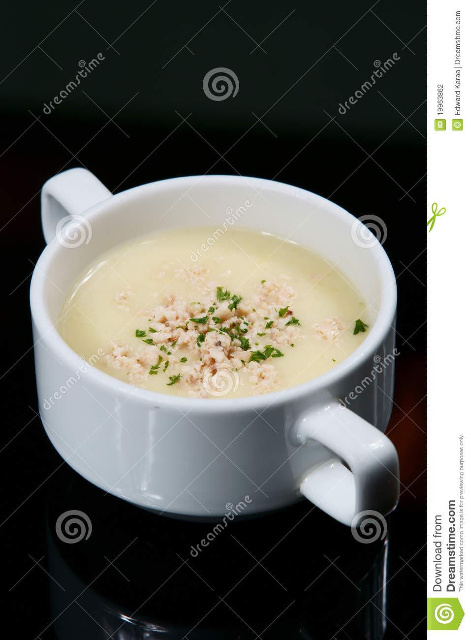 Cream Of Shrimp Soup  Shrimp Cream Soup stock photo Image of food french
