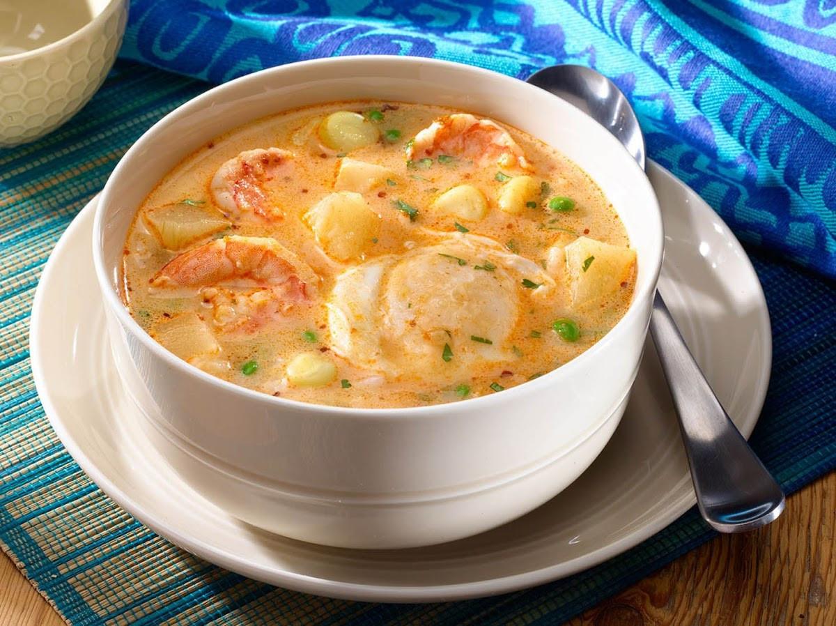 Cream Of Shrimp Soup  10 Best Cream of Shrimp Soup and Pasta Recipes