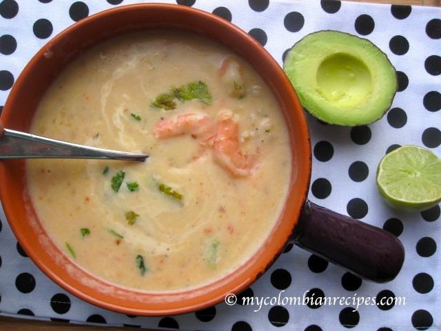Cream Of Shrimp Soup  Crema de Camarones Creamy Shrimp Soup