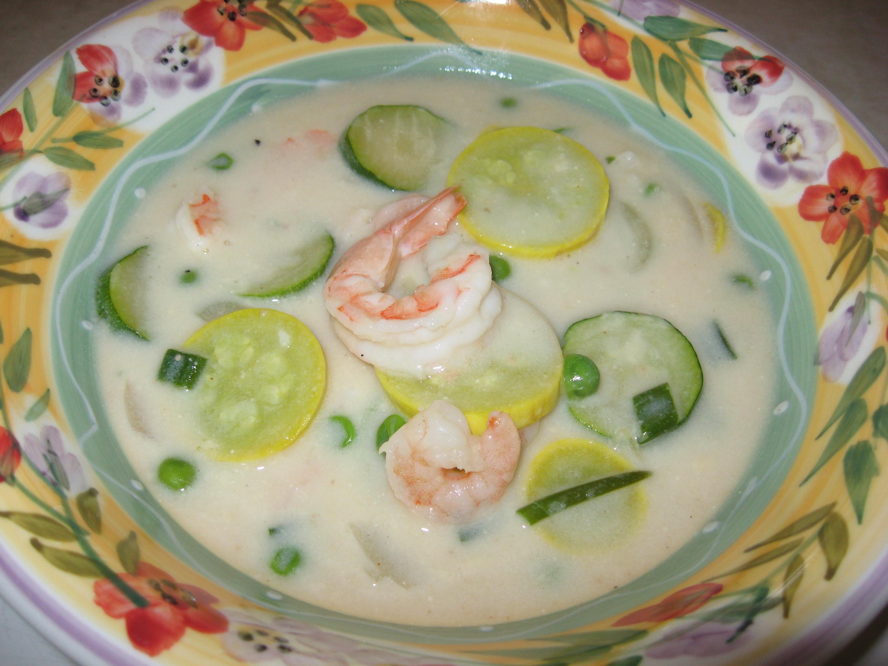 Cream Of Shrimp Soup  February 2013