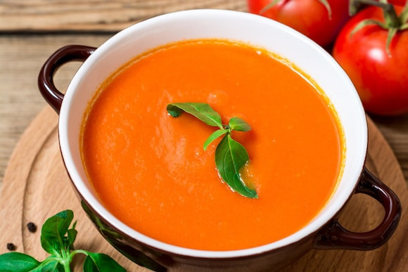 Cream Of Tomato Soup  Dairy Free Cream of Tomato Soup Clean Eating Kitchen