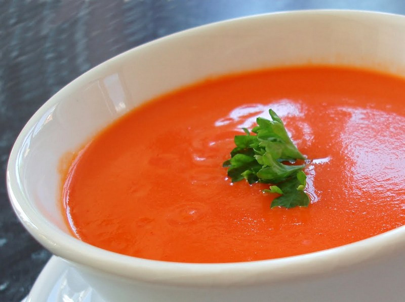Cream Of Tomato Soup  Dishes by Doe