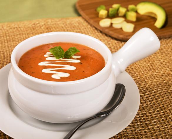 Cream Of Tomato Soup  Sensational Summer Soup Sandwich and Savings