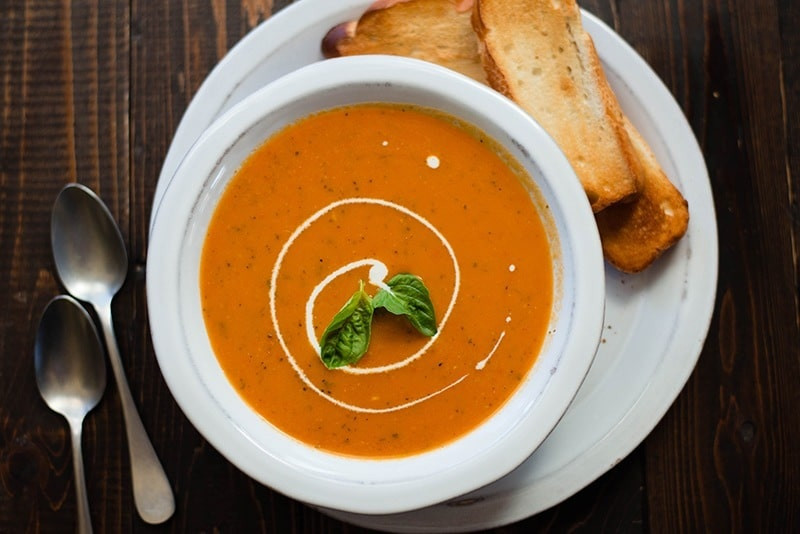 Cream Of Tomato Soup  Cream of Tomato Soup Recipe • A Sweet Pea Chef