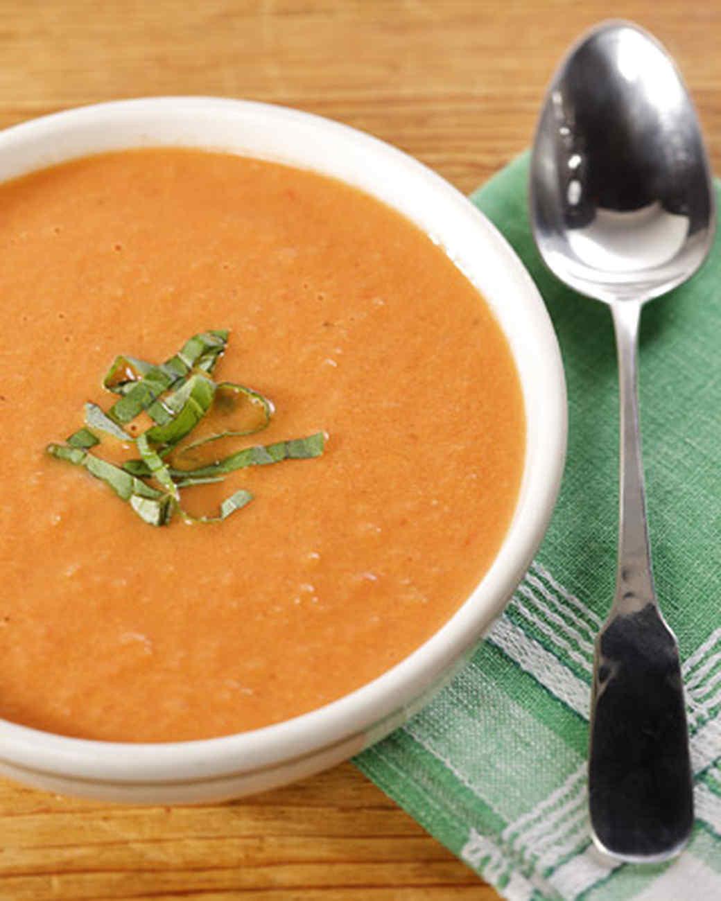 Cream Of Tomato Soup  Creamy Tomato Soup Recipe & Video