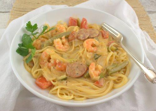 Creamy Cajun Shrimp Pasta  Creamy Cajun Shrimp Pasta