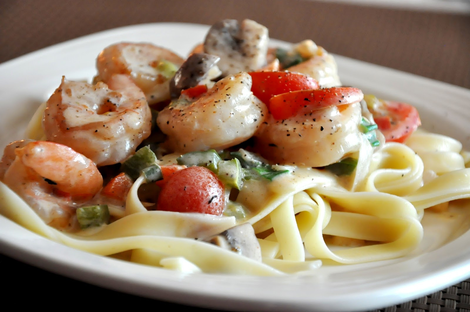 Creamy Cajun Shrimp Pasta  What s Cooking at Richard s Creamy Cajun Shrimp Pasta
