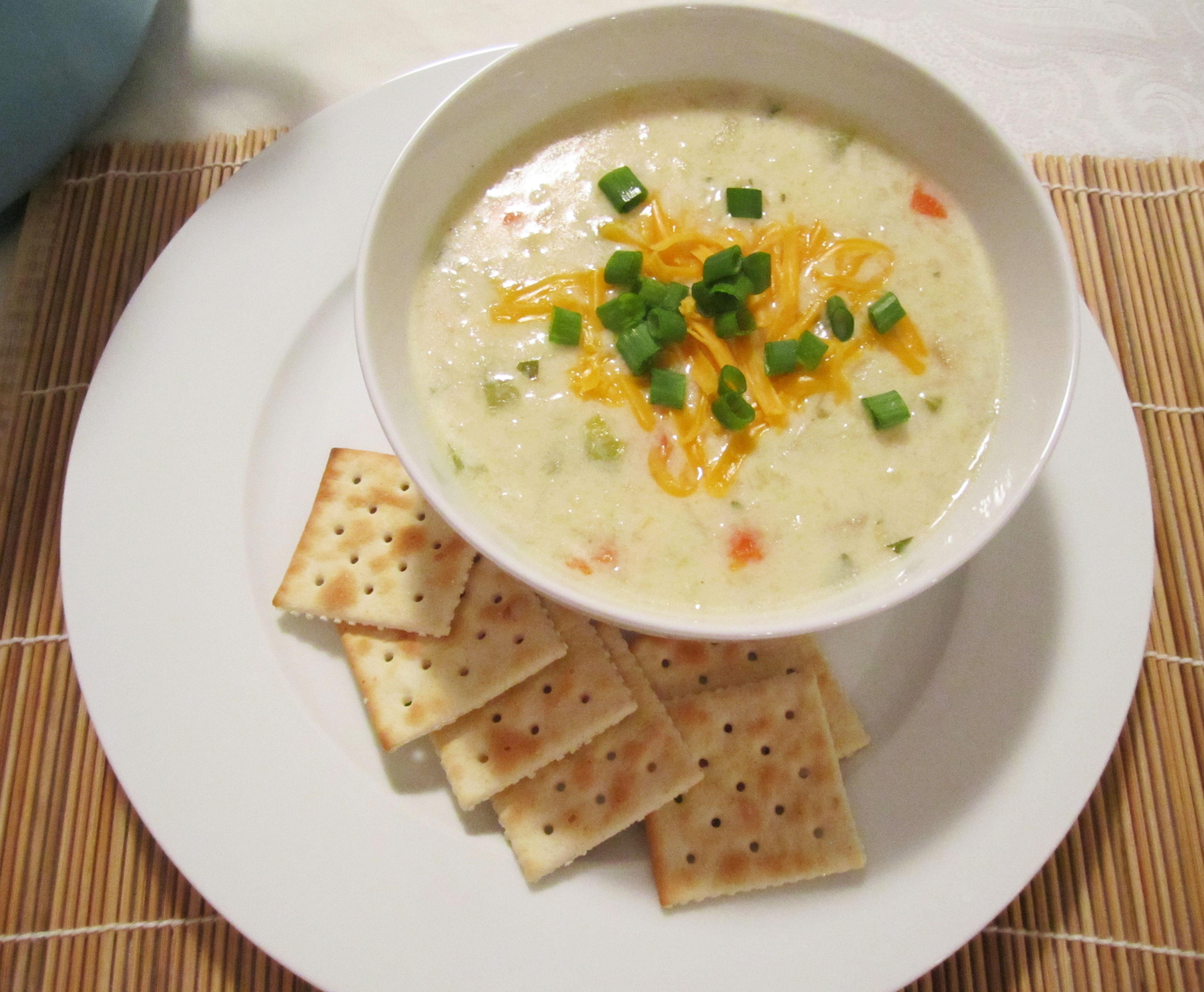 Creamy Cauliflower Soup  Creamy Cauliflower Soup