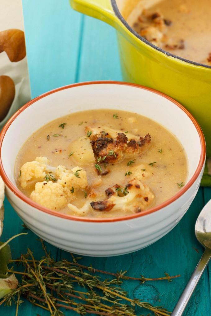 Creamy Cauliflower Soup  creamy cauliflower soup healthy