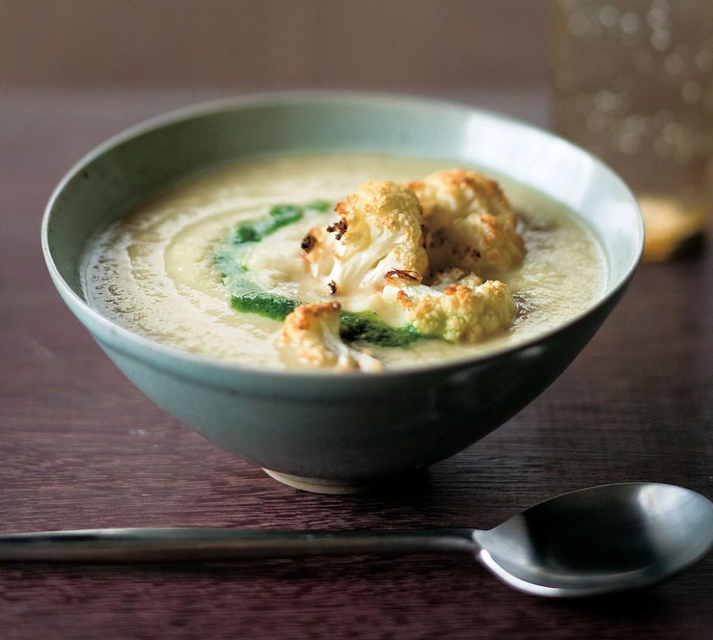 Creamy Cauliflower Soup  Golden Door Recipe Creamy Cauliflower Soup with