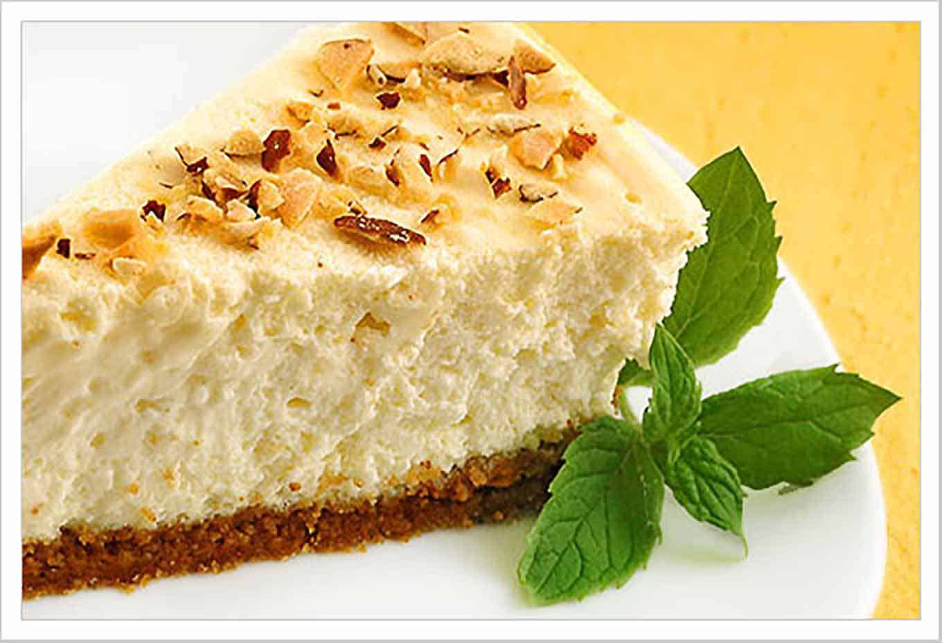 Creamy Cheesecake Recipe  Creamy Amaretto Cheesecake Recipe