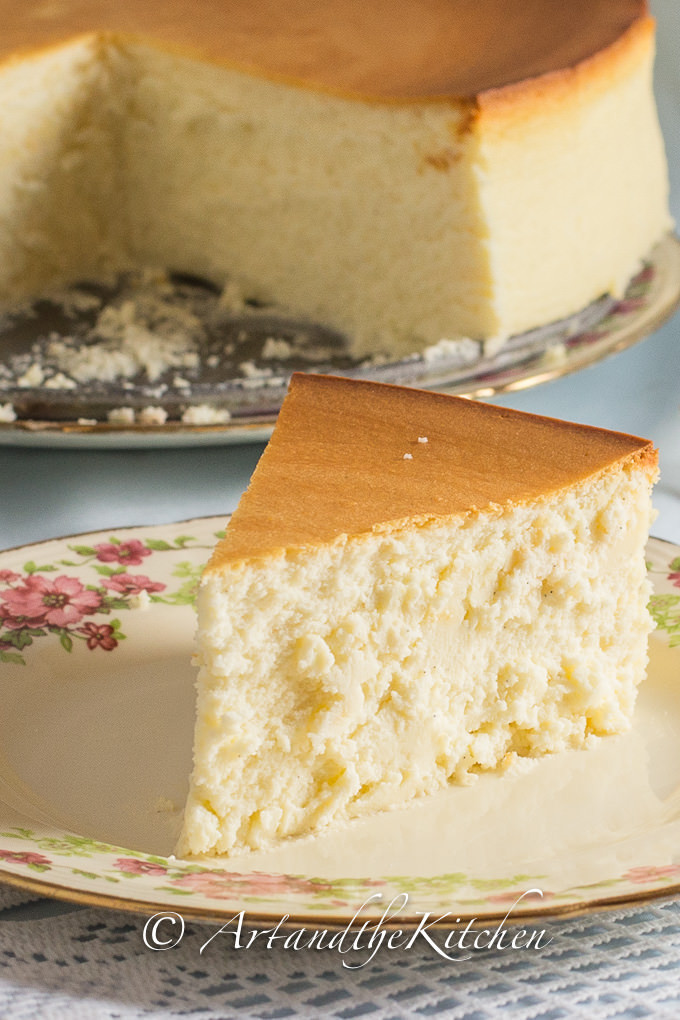 Creamy Cheesecake Recipe  Tall and Creamy New York Cheesecake