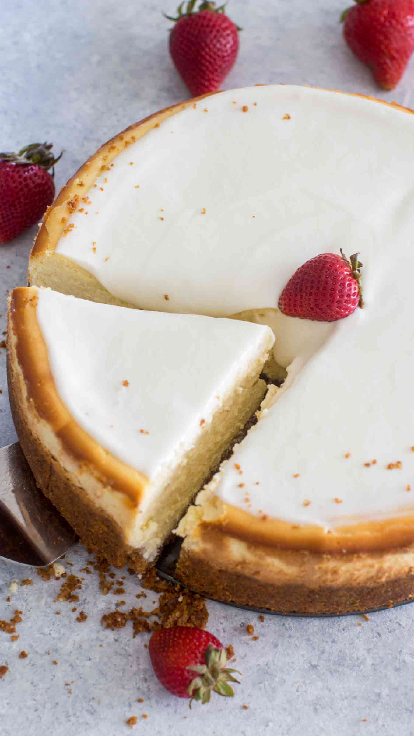 Creamy Cheesecake Recipe  Cheesecake Factory Original Cheesecake Copycat Recipe