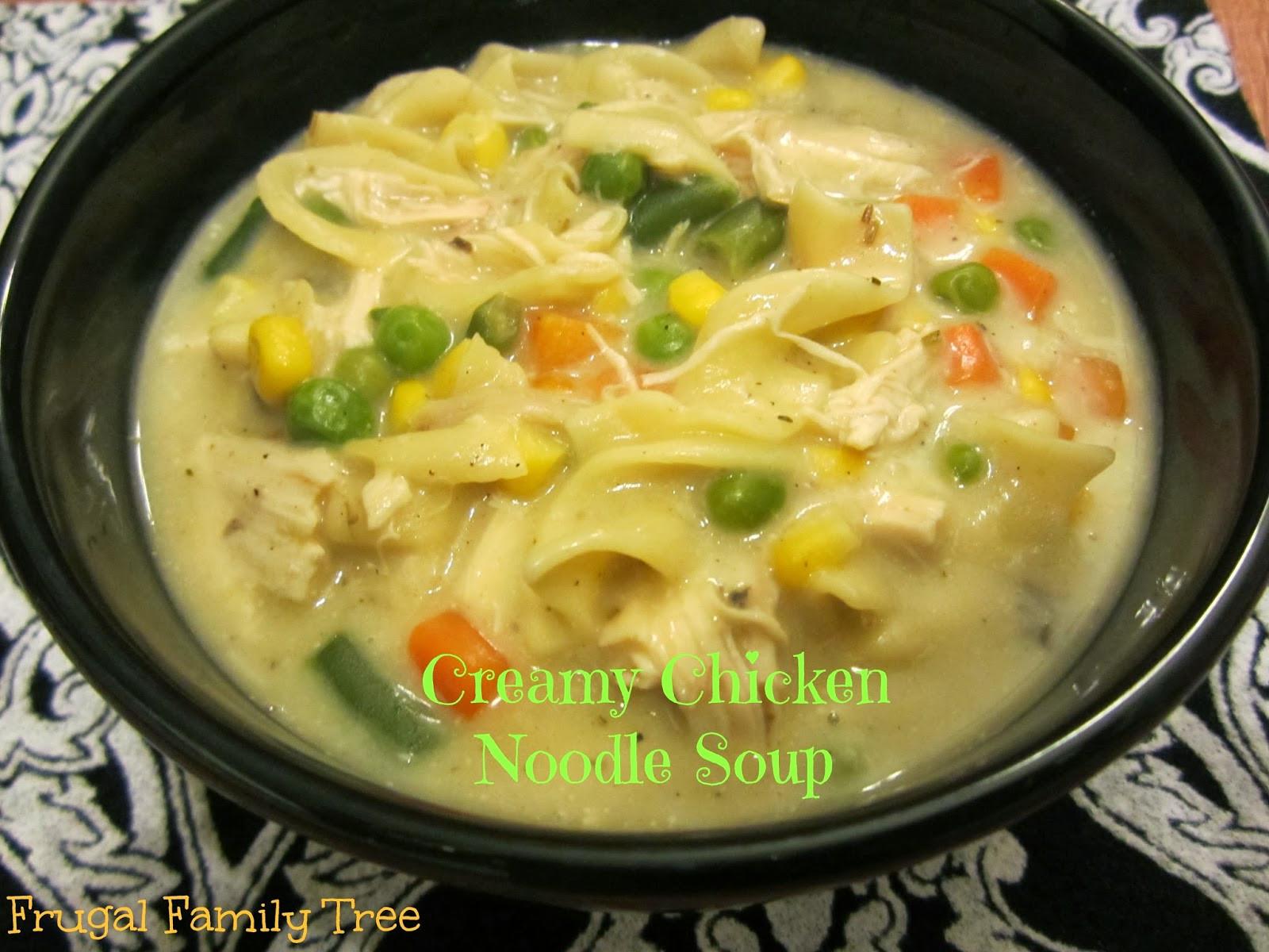 Creamy Chicken Noodle Soup Recipe  Creamy Chicken Noodle Soup