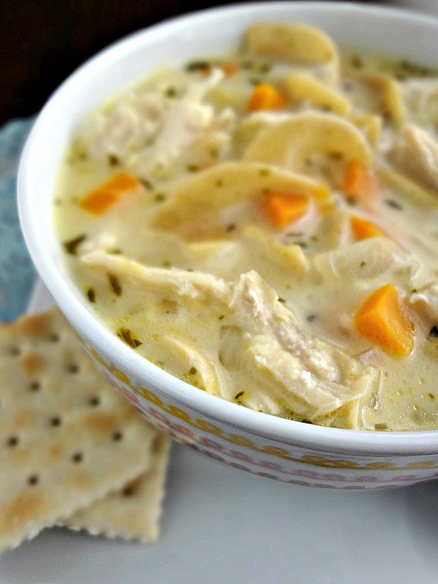 Creamy Chicken Noodle Soup Recipe  The Cooking Actress Creamy Chicken Noodle Soup