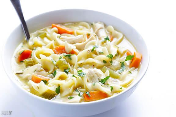 Creamy Chicken Noodle Soup Recipe  Creamy Chicken Noodle Soup Recipe