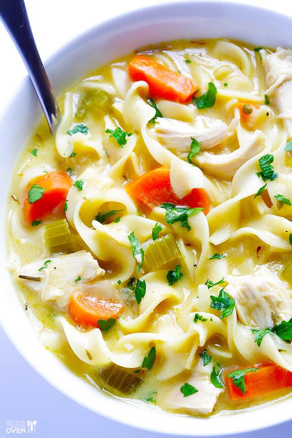 Creamy Chicken Noodle Soup  Creamy Chicken Noodle Soup Recipe