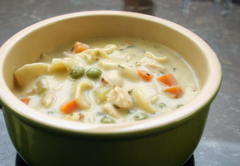 Creamy Chicken Soup Recipe  Creamy Chicken Noodle Soup Recipe