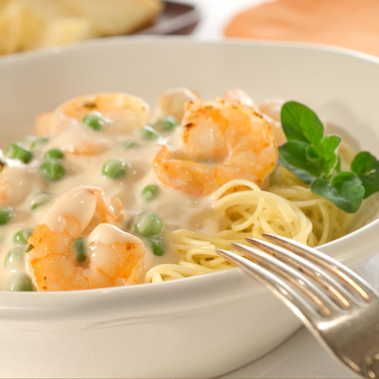 Creamy Garlic Shrimp Pasta  Creamy Garlic Shrimp With Angel Hair Pasta Bertolli