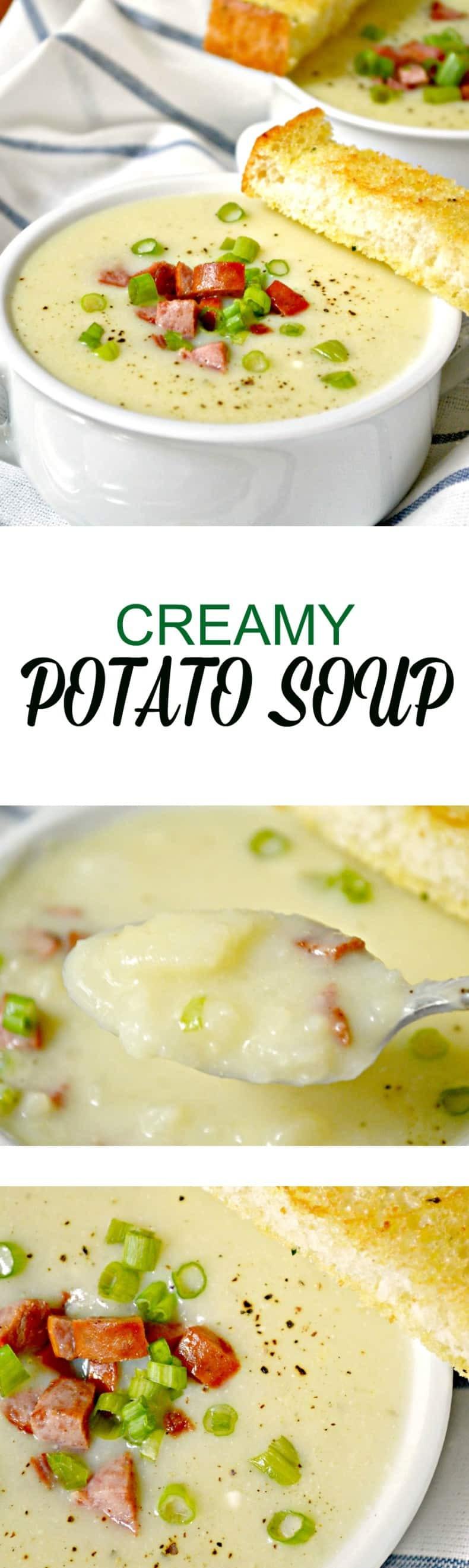 Creamy Potato Soup  Creamy Potato Soup
