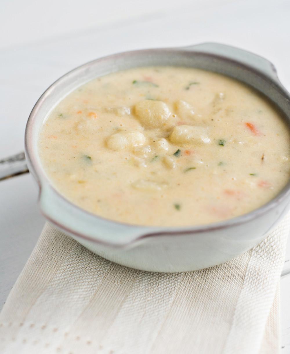 Creamy Potato Soup  Old Fashioned Potato Soup