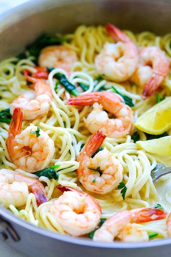 Creamy Shrimp Pasta  creamy shrimp pasta sauce