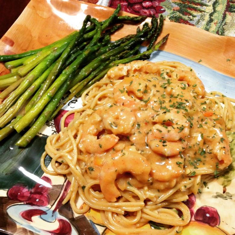 Creamy Shrimp Pasta  Creamy Cajun Shrimp Pasta Sheryl In The Kitchen