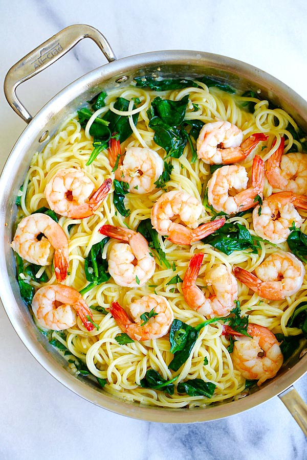 Creamy Shrimp Pasta  Creamy Shrimp Pasta