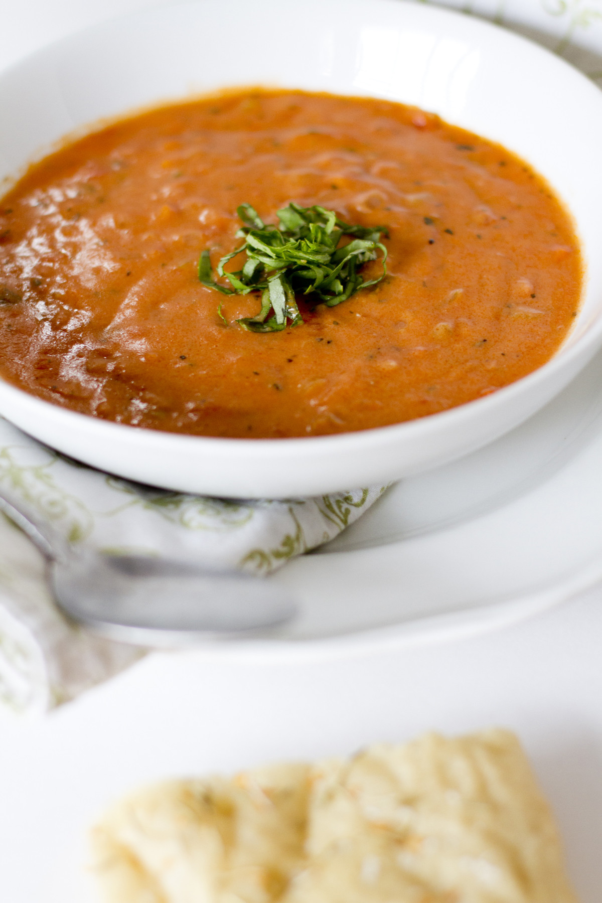 Creamy Tomato Basil Soup  Creamy Tomato Basil Soup with Parmesan