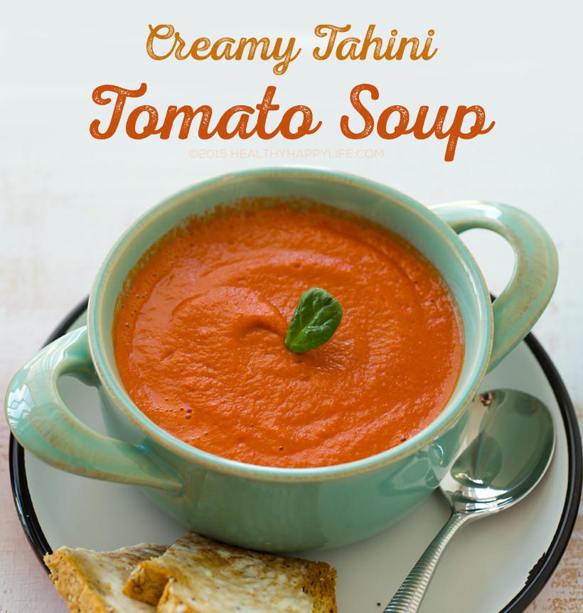 Creamy Tomato Soup  Simple Creamy Tomato Soup
