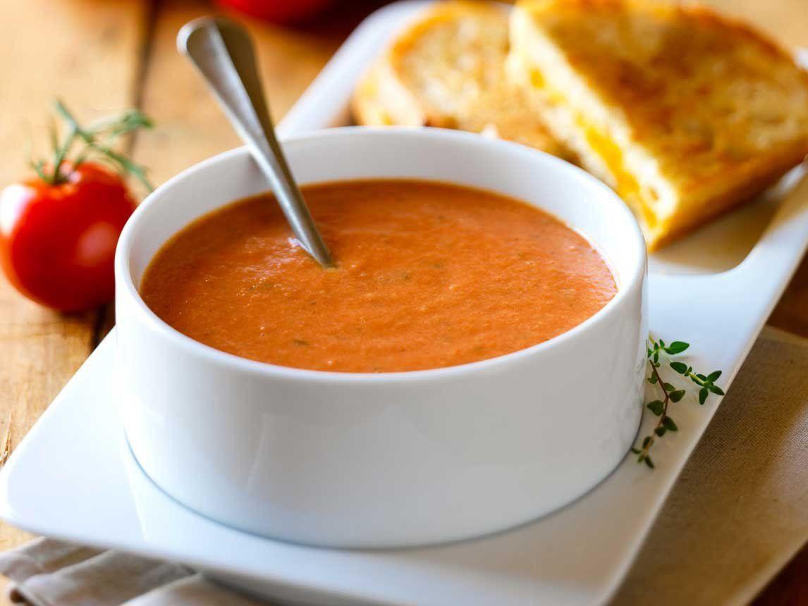 Creamy Tomato Soup  Silk Recipes Creamy Tomato Soup
