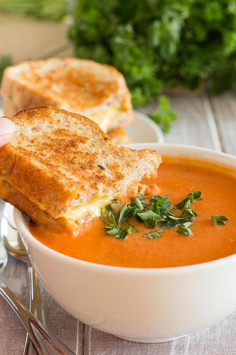 Creamy Tomato Soup  Creamy Tomato Soup Vegan Yumminess
