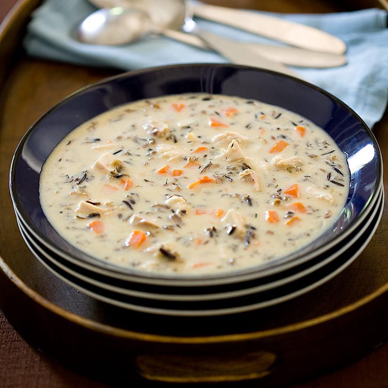 Creamy Turkey Soup  Creamy Turkey and Wild Rice Soup
