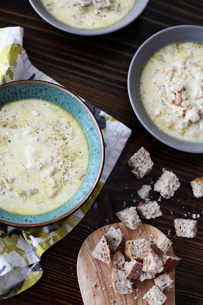 Creamy White Chicken Chili  Best Ever Creamy White Chicken Chili Recipe