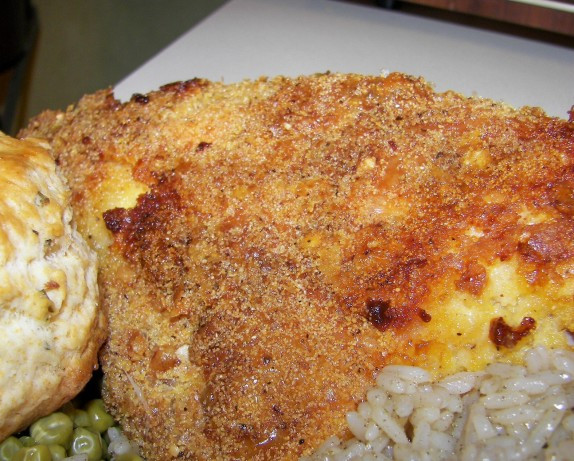 Crispy Baked Chicken Breast  Crispy Baked Chicken Breasts Recipe Food