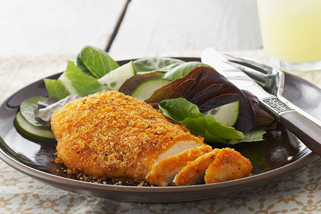 Crispy Baked Chicken Breast  Crispy Parmesan Chicken Breasts Kraft Recipes