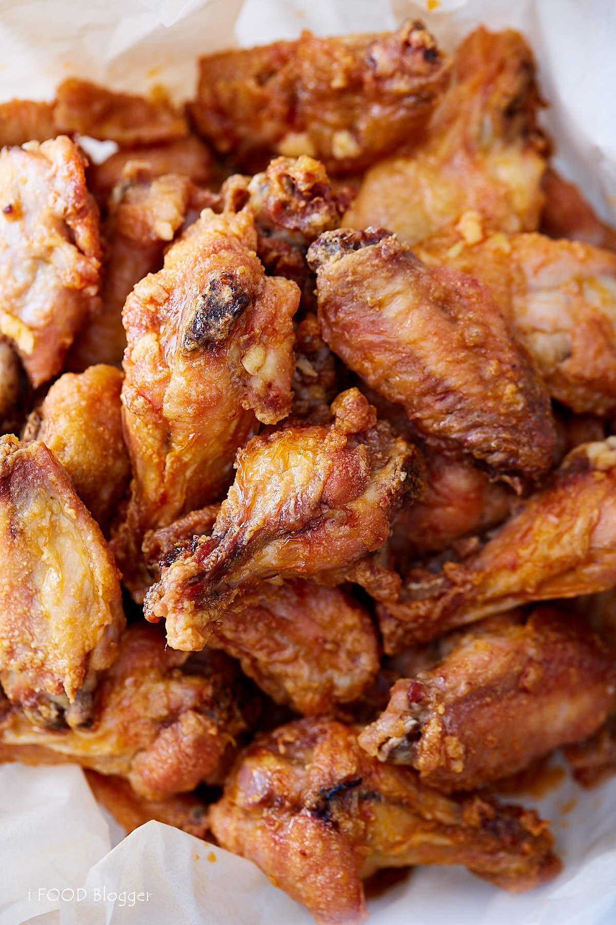 Crispy Baked Chicken Wings  Extra Crispy Baked Chicken Wings i FOOD Blogger