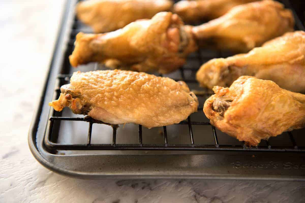 Crispy Baked Chicken Wings  Truly Crispy Baked Buffalo Wings