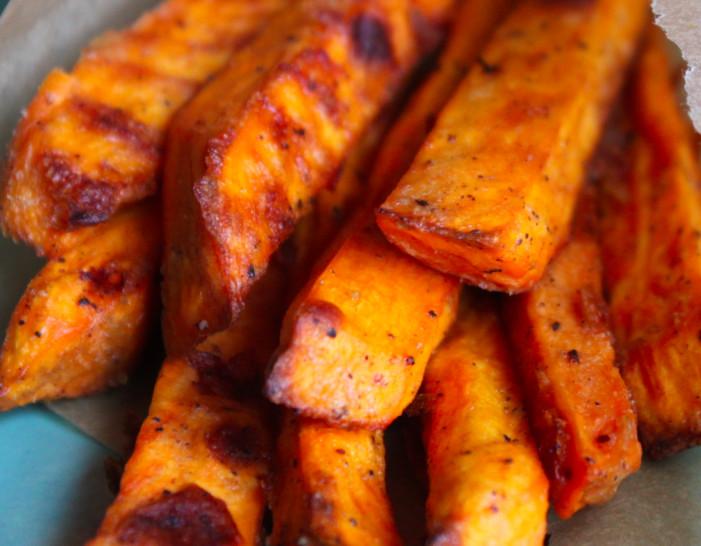 Crispy Baked Sweet Potato Fries  Crispy Baked Sweet Potato Fries Healthy Crush