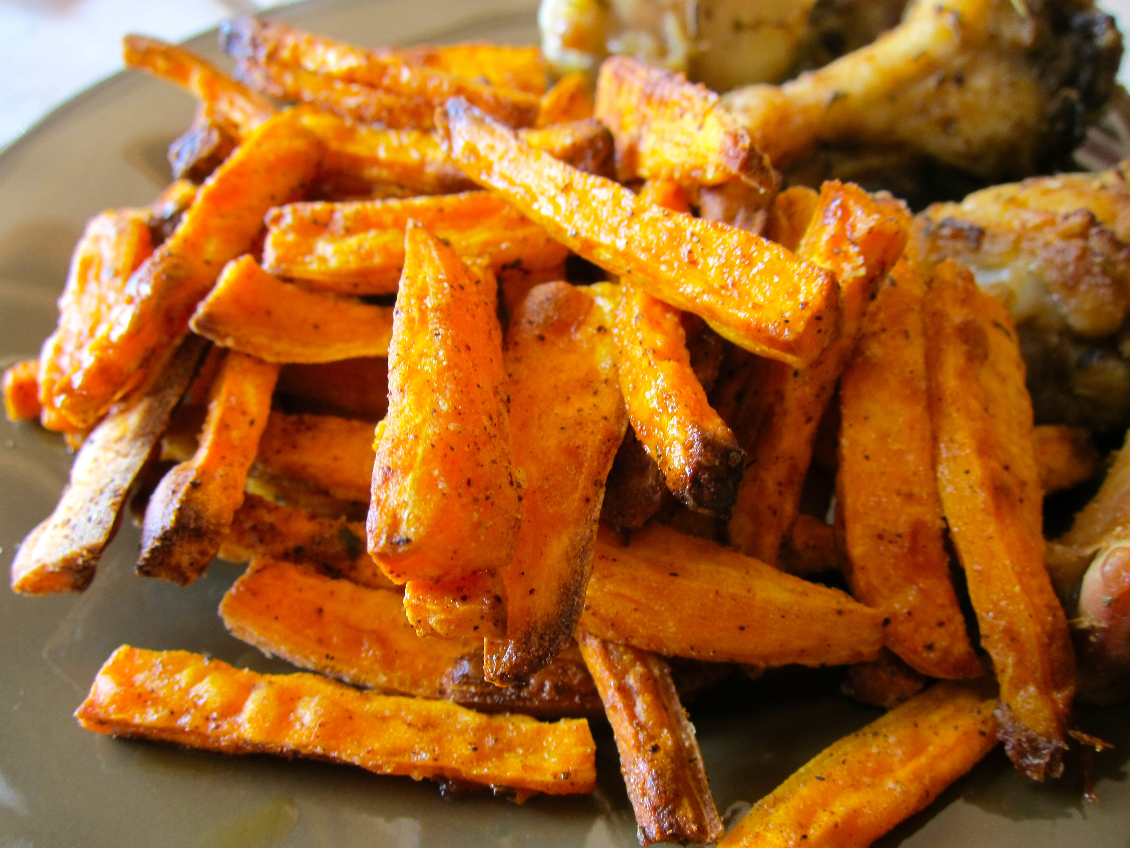 Crispy Baked Sweet Potato Fries  Crispy Sweet Potato Fries – Simply Living Healthy