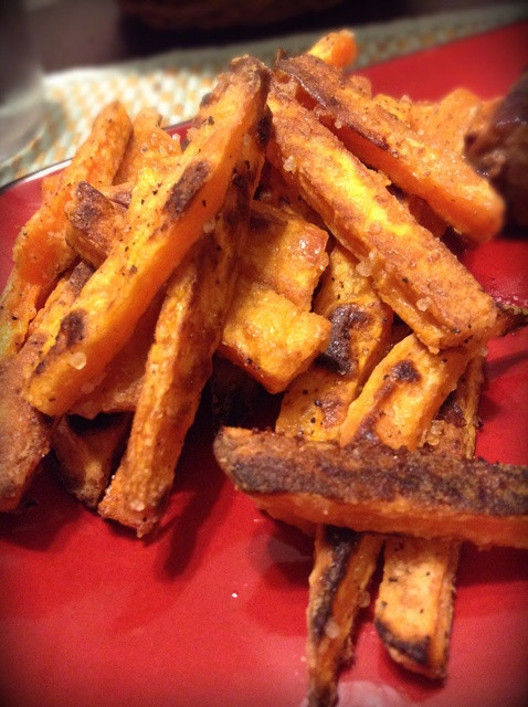 Crispy Baked Sweet Potato Fries  How to Make CRISPY Baked Sweet Potato Fries Recipe Snapguide