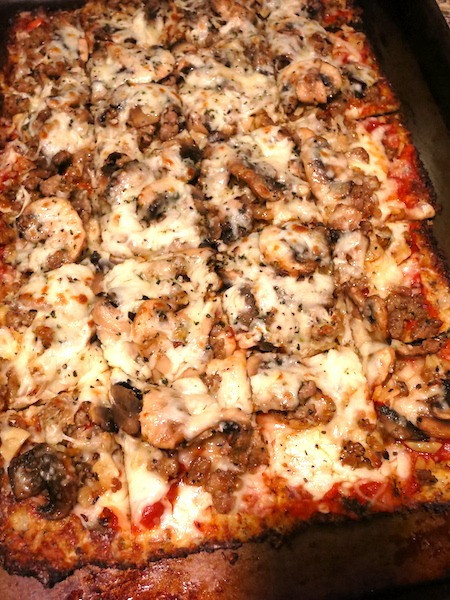Crispy Cauliflower Pizza Crust  Crispy Cauliflower Crust Pizza Ambassadors of World Food