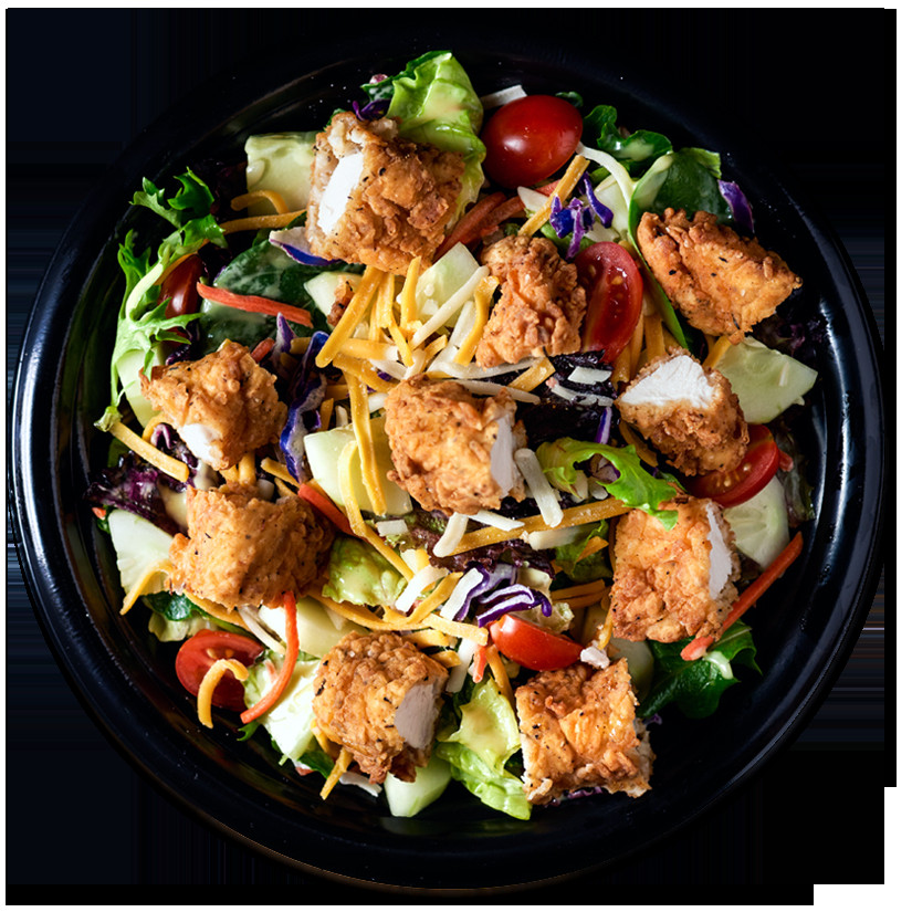 Crispy Chicken Salad  PDQ