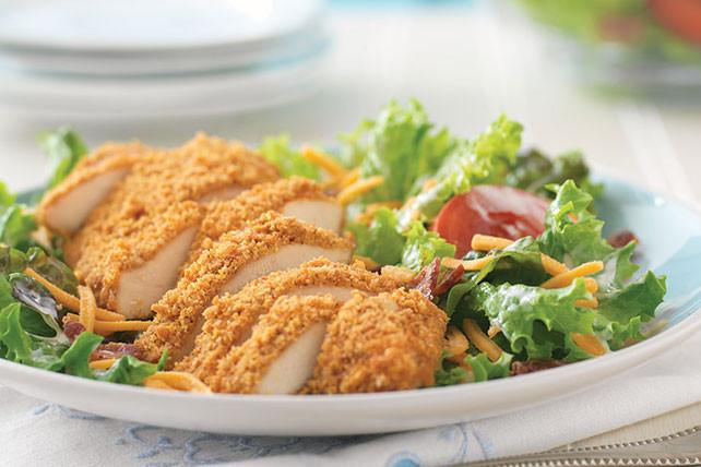 Crispy Chicken Salad  Crispy Chicken BLT Salad Kraft Recipes