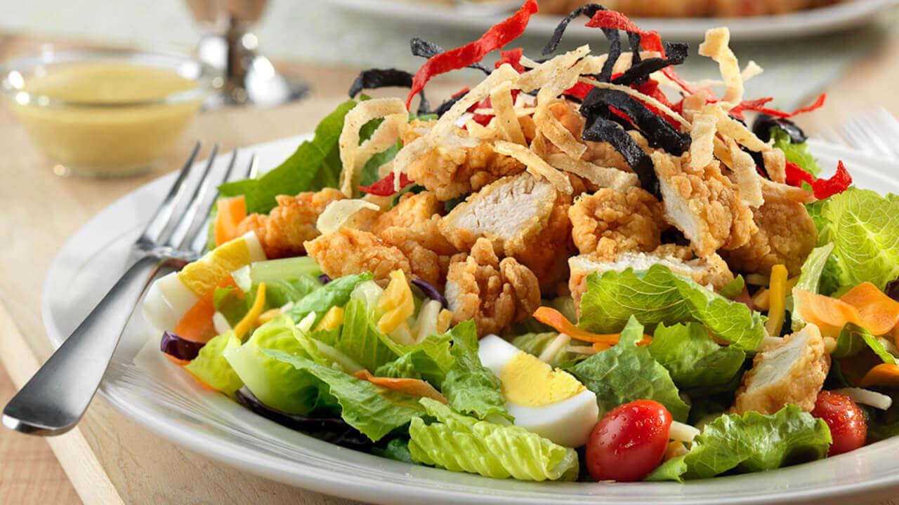 Crispy Chicken Salad  Crispy Chicken Salad · Friendly s