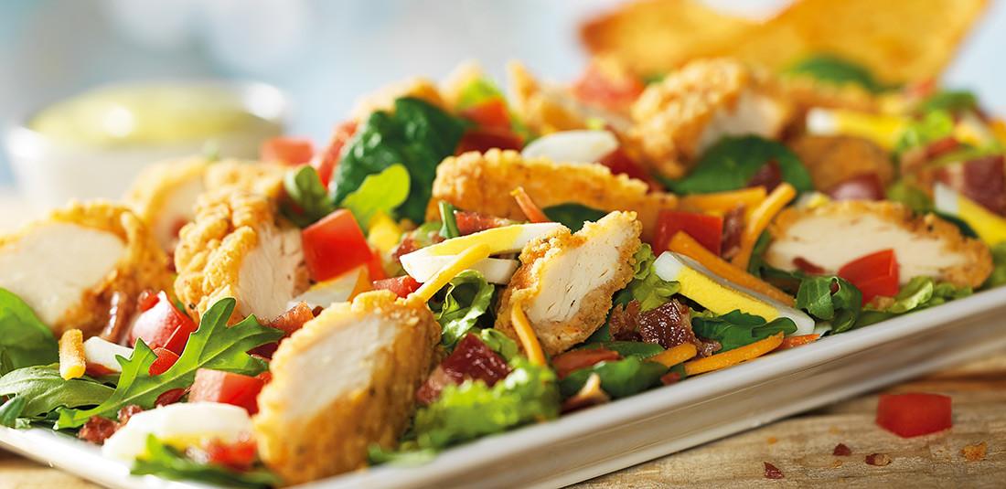Crispy Chicken Salad  crispy chicken salad